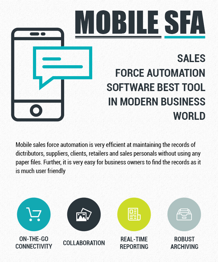 Salesforce automation application for world's largest manufacturer